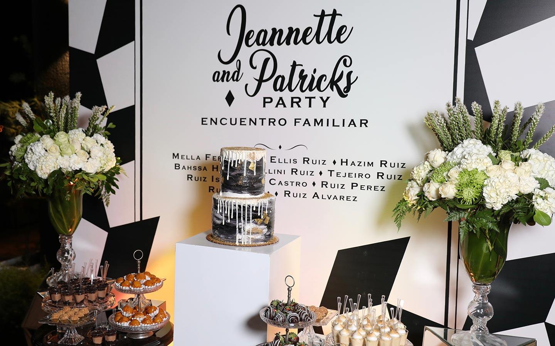Jeannette y Patrick Reencuentro Familiar