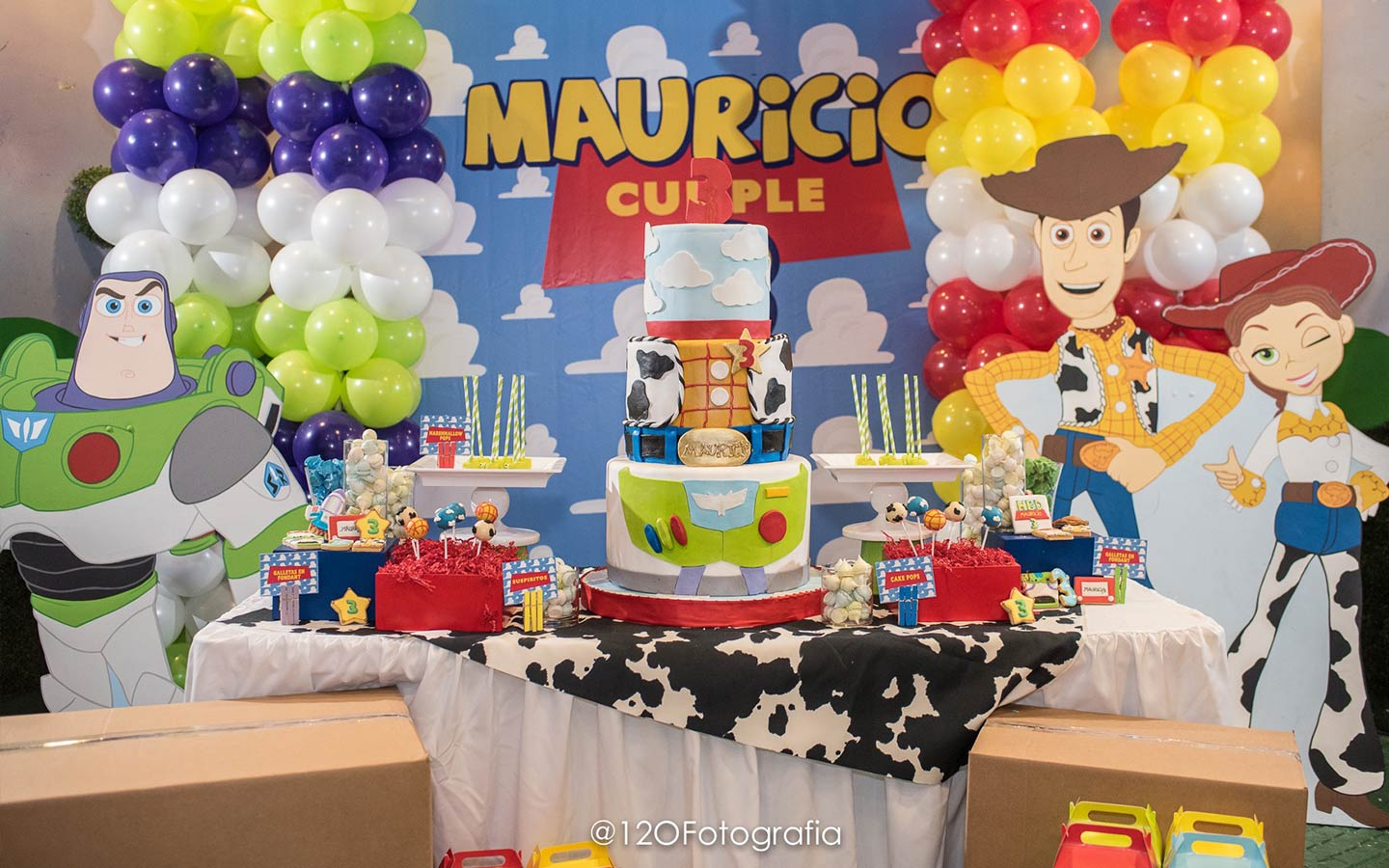 Mauricios turns 3 Toy Story